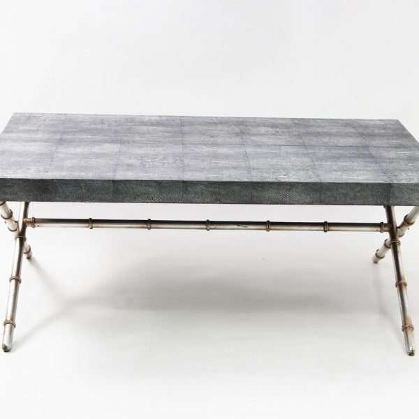 Campaign dinning table and coffee table by Forwood Design 5