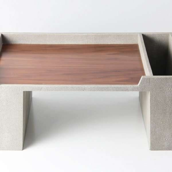Bed Tray in Barley Shagreen by Forwood Design 5