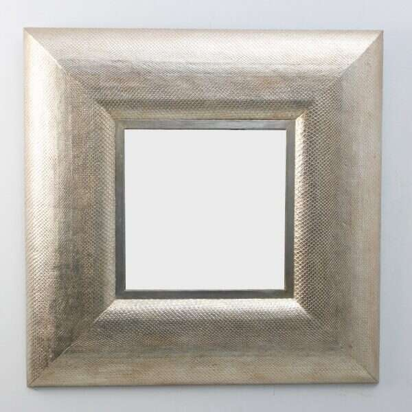 Silver Boa Wall Mirror by Forwood Design 4