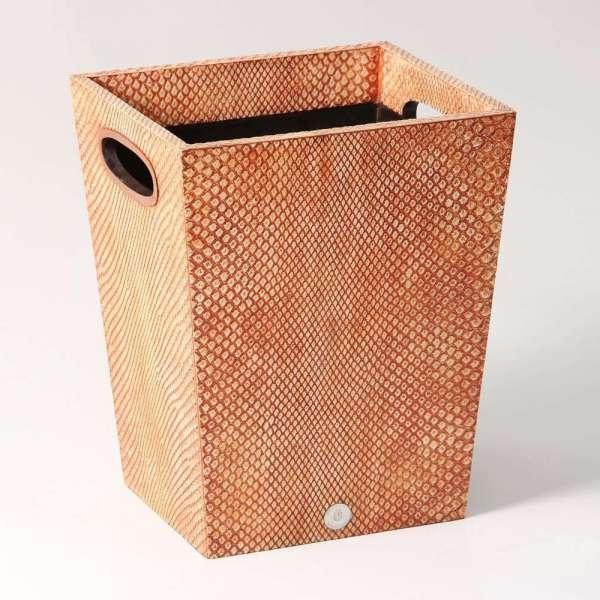 Forwood Design Waste Bin in Coral Boa 5