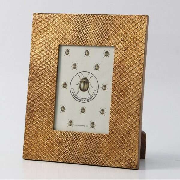 Photo Frame in Antique Gold Boa by Forwood design 3