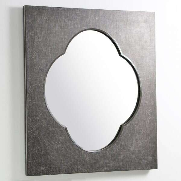 Ely Mirror in Charcoal Linen by Forwood Design 1