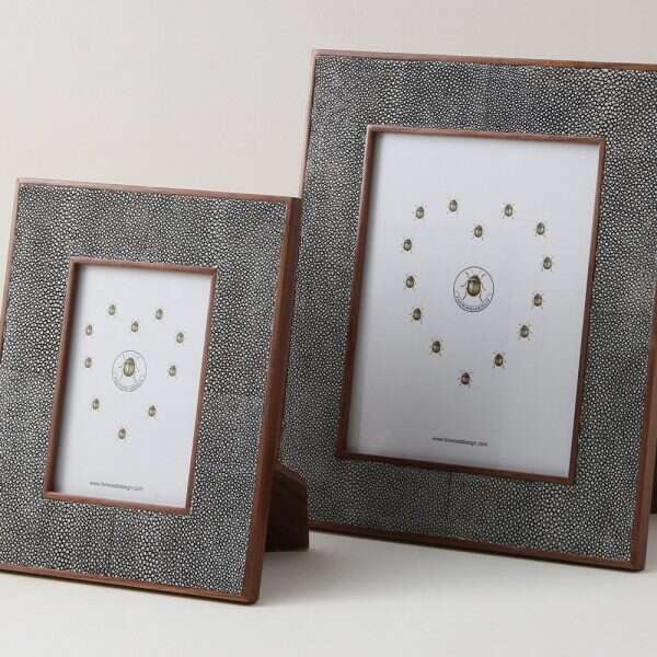 Classic Photo Frames in Charcoal Grey 4