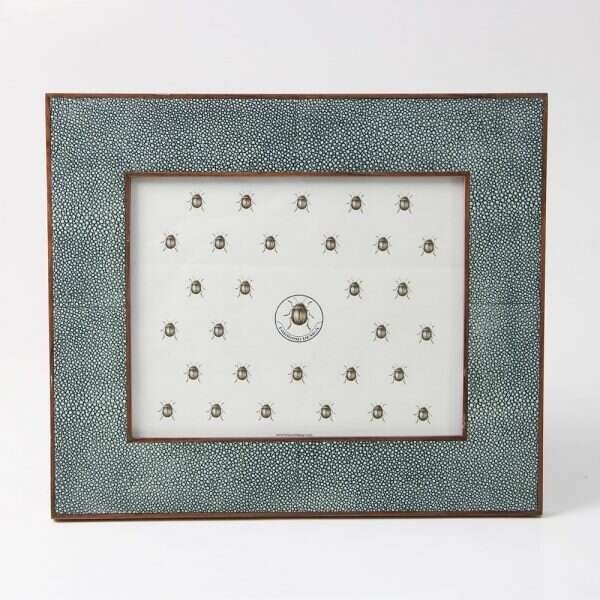 Classic Photo Frames in Lincoln Green Shagreen by Forwood Design 7