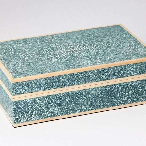 Ansley Jewellery Box in Teal 2