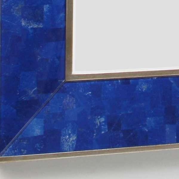 Lapis Lazuli Rectangular Mirror by Forwood Design 1