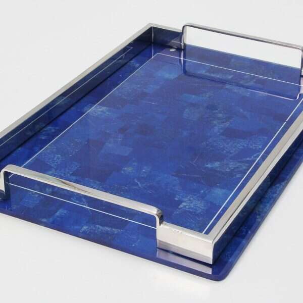 Lapis Lazuli Drinks Tray by Forwood Design 2