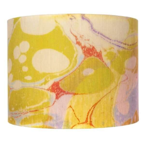 Lavender Tapestry Linen Lampshades by Susi Bellamy 2