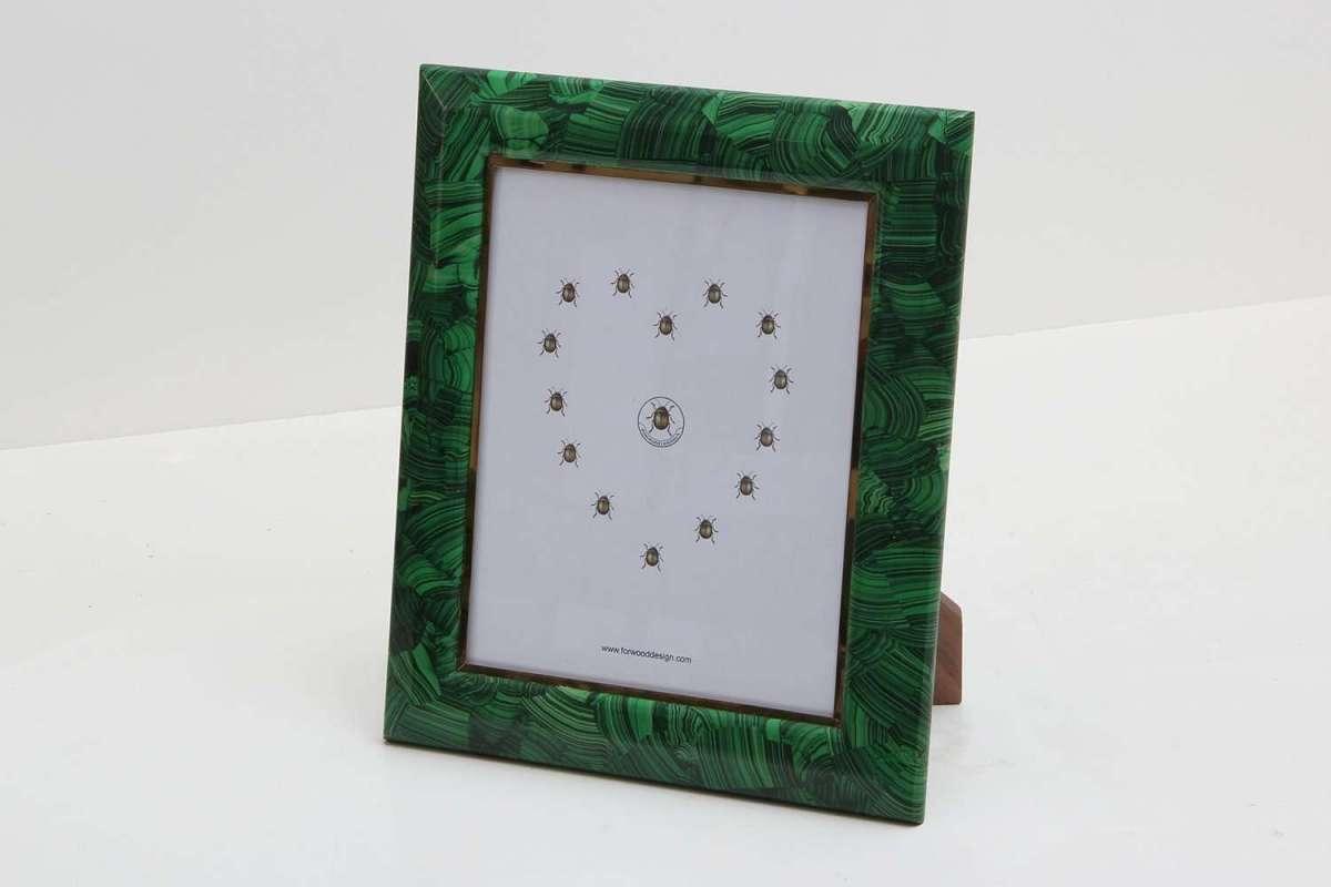 Malachite Photo Frames by Forwood Design 5