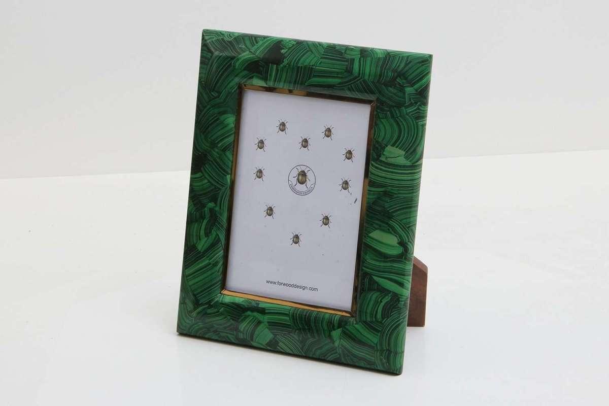 Malachite Photo Frames by Forwood Design 7