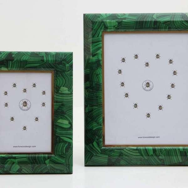 Malachite Photo Frames by Forwood Design 3