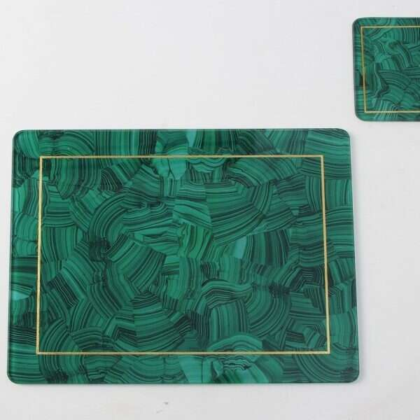 Malachite Place mats - Set of 4 by Forwood Design 3