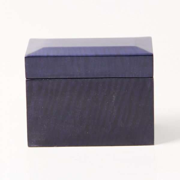 Playing Card Box in Periwinkle Blue 1