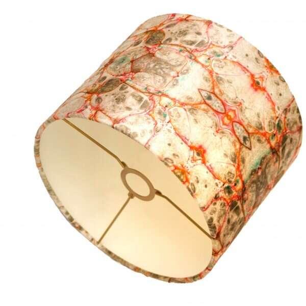 Pietra Grigia Velvet Lampshades by Susi Bellamy 2