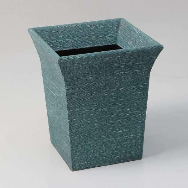 Tarka Waste Bin in Teal Silk by Forwood Design 1