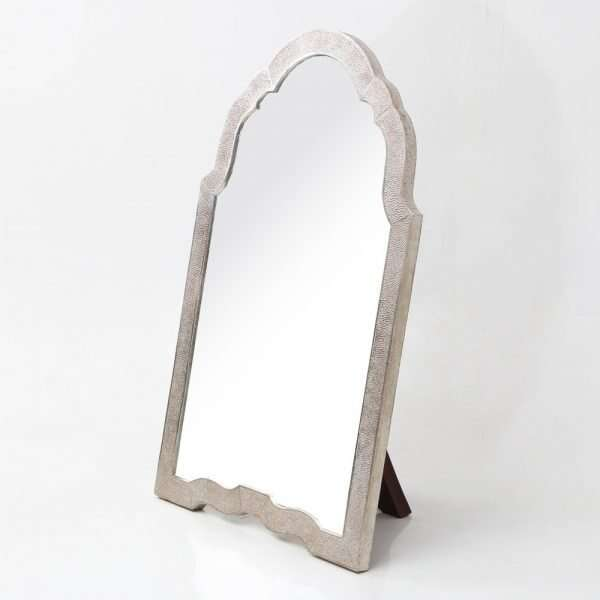 Arden Dressing Table Mirror in Silver Shagreen by Forwood Design 2