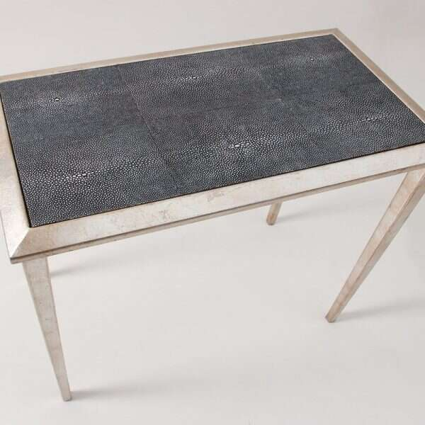 Clare Shagreen Lamp Table by Forwood Design 5