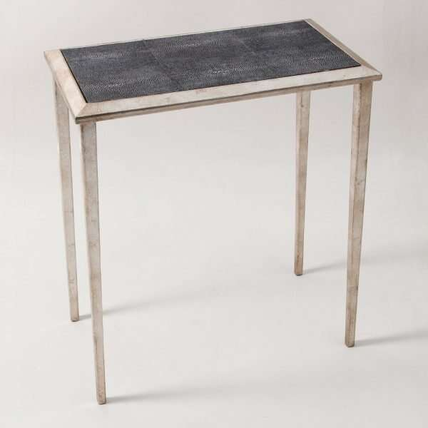 Clare Shagreen Lamp Table by Forwood Design 1