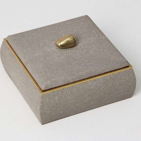 Sophie Box in Barley Shagreen by Forwood Design 3