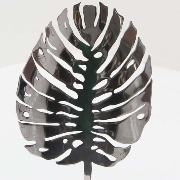 Stainless Steel Leaf Sculpture by Forwood Design 2