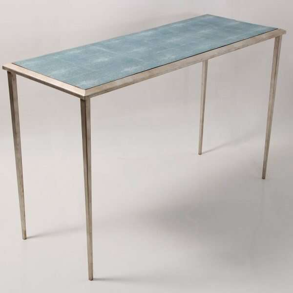 Ellie Shagreen Console Table 4