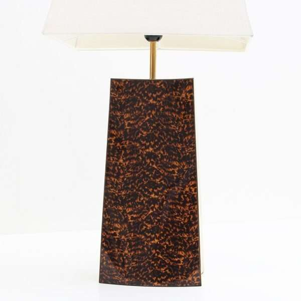 Shard Tortoise Shell Table Lamp by Forwood design 5