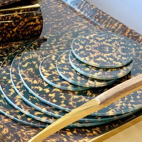 Tortoise shell Placemats 9