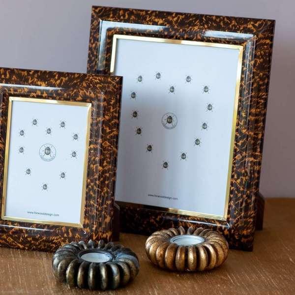 Bella Photo Frames in Tortoiseshell by Forwood Design 11