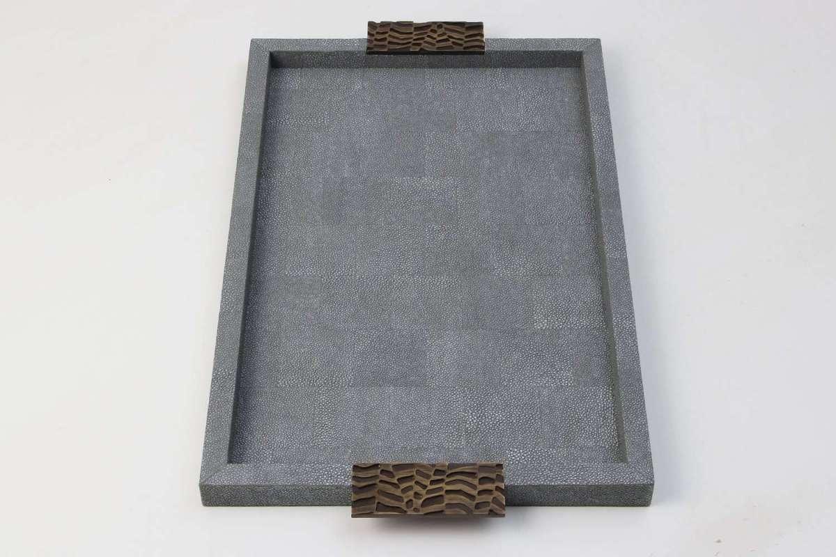 Shagreen Display Tray by Rachael Winham