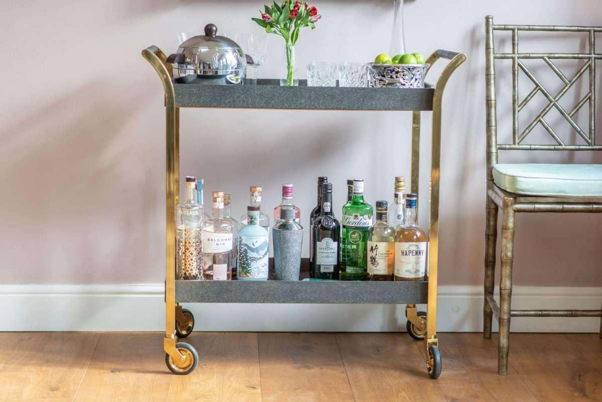 Drinks trolley Luxury bar cart