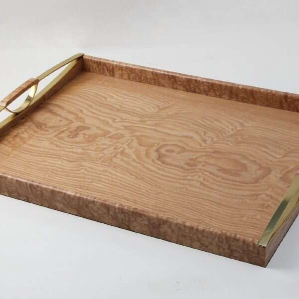 Tamo Ash and Brass drinks tray 3