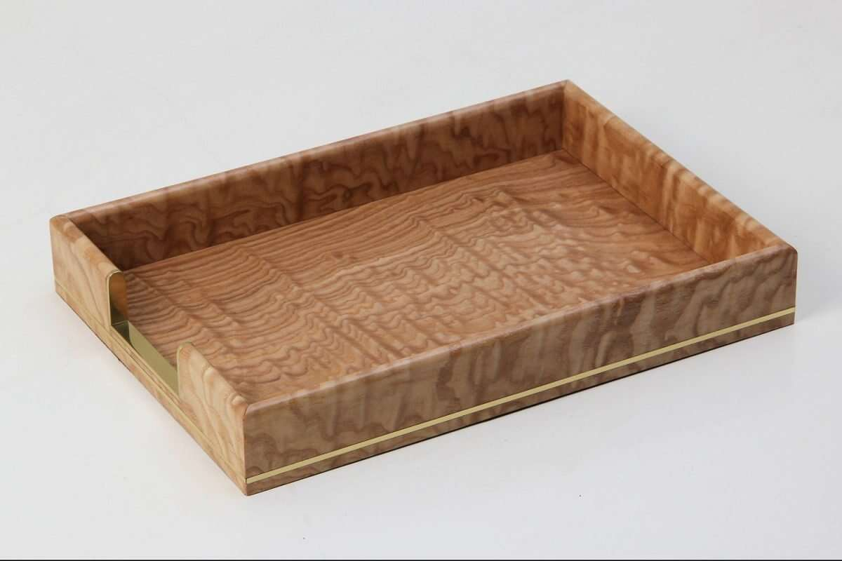 Tamo Ash and Brass In-Tray 5