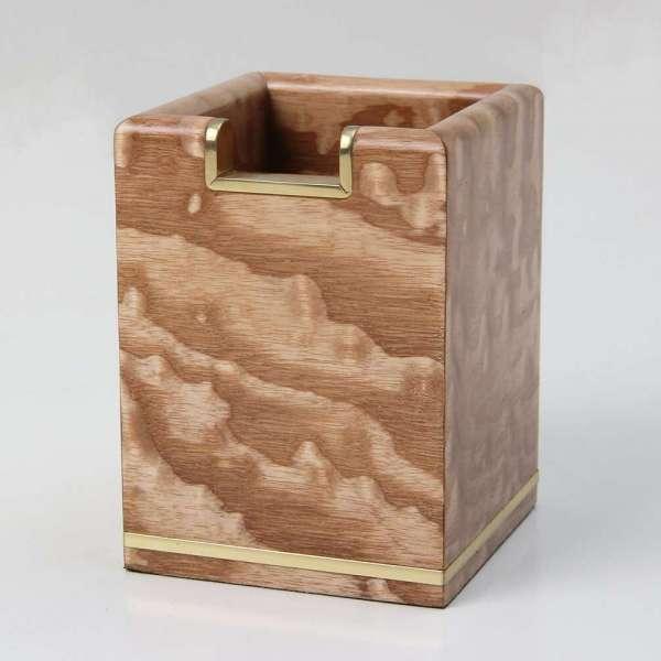 Tamo ash & brass pen pot 5