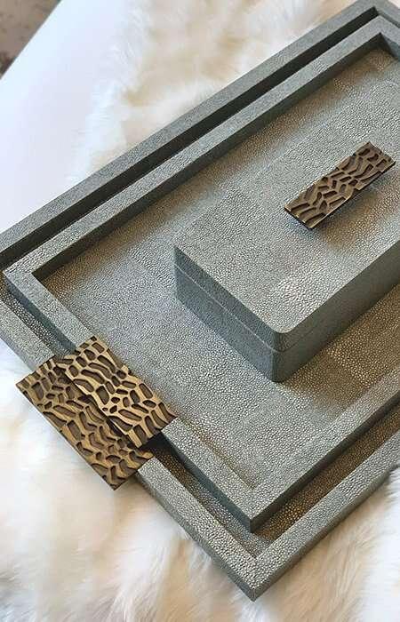 Luxury trays by Rachael Winham