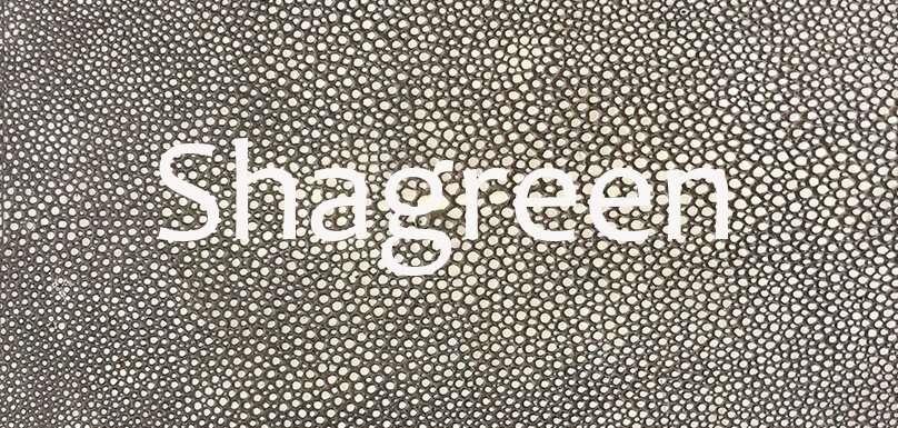 Shagreen banner