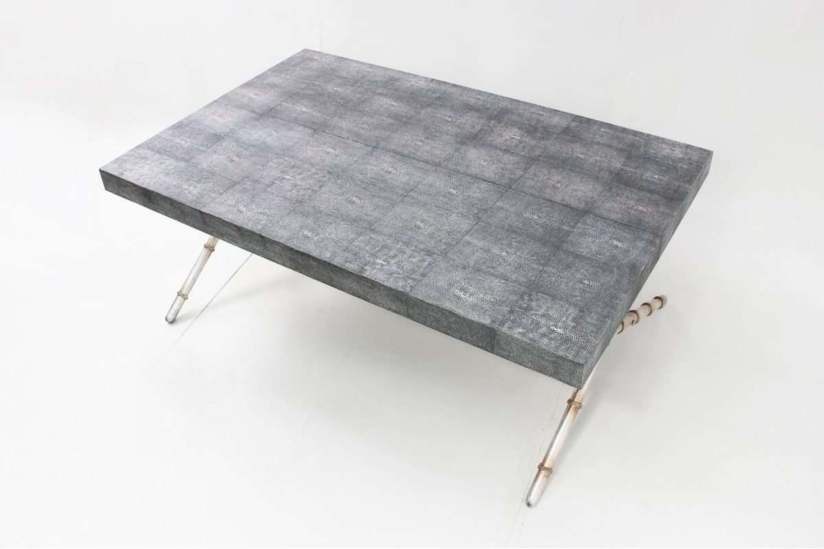 Campaign dinning table and coffee table by Forwood Design 3
