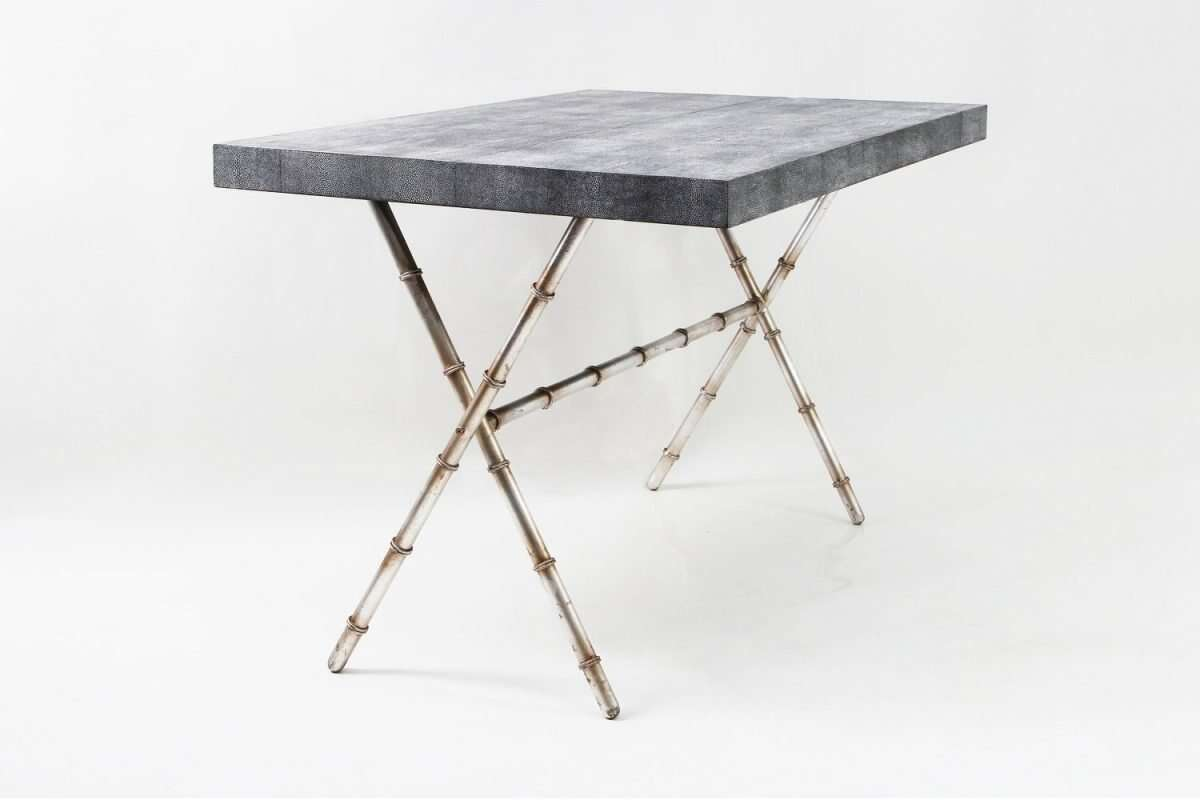 Campaign dinning table and coffee table by Forwood Design 1