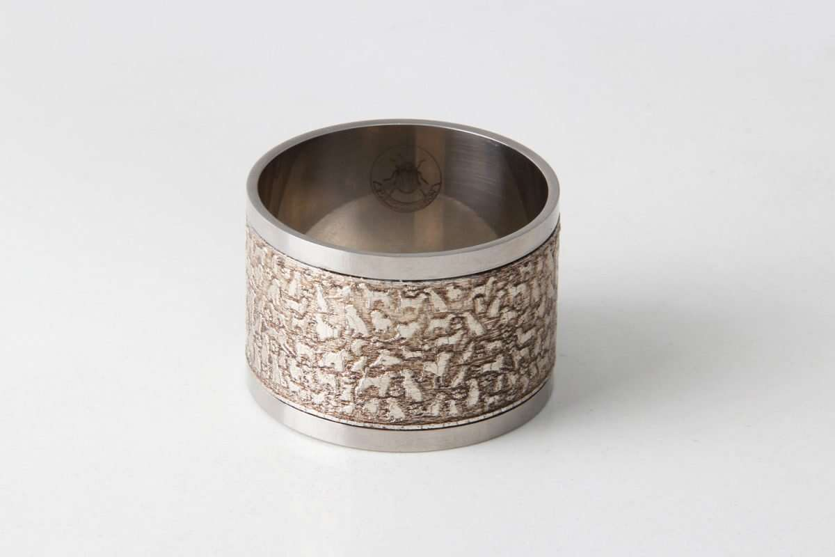 'Rover' Napkin Rings in Antique Silver by Forwood Design 1