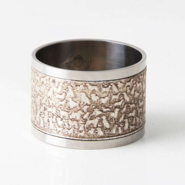 'Rover' Napkin Rings in Antique Silver by Forwood Design 5