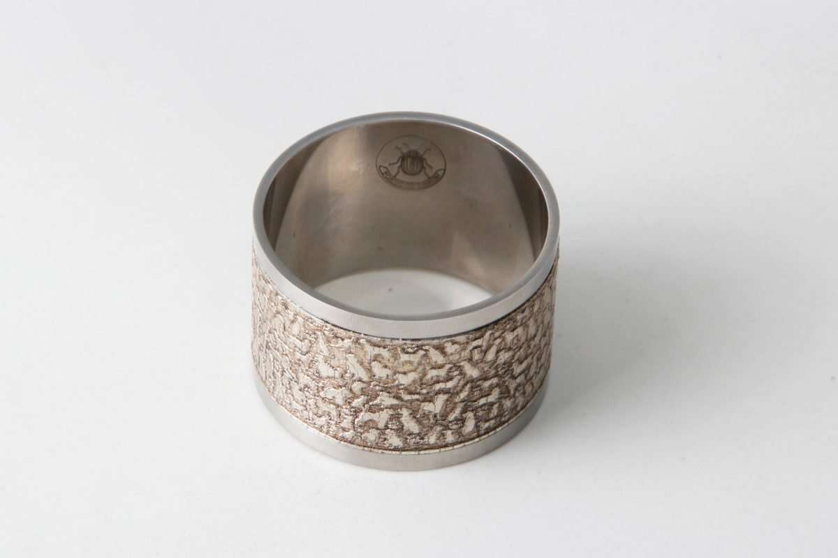 'Rover' Napkin Rings in Antique Silver by Forwood Design 4