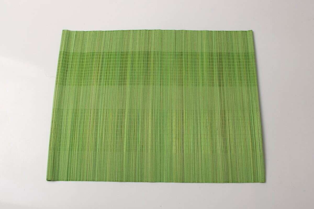 Bamboo Placemats in Lime Green 3