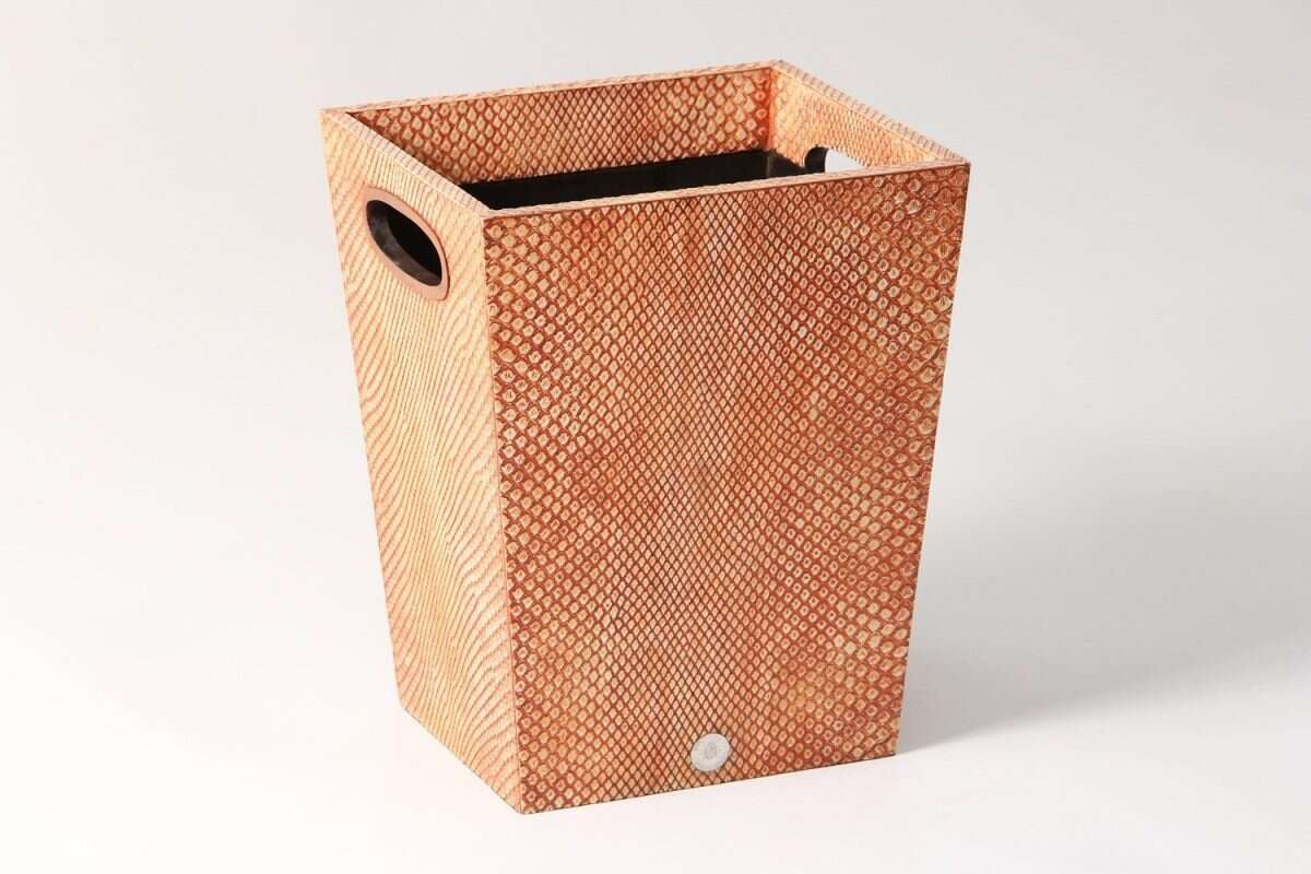 Forwood Design Waste Bin in Coral Boa 5