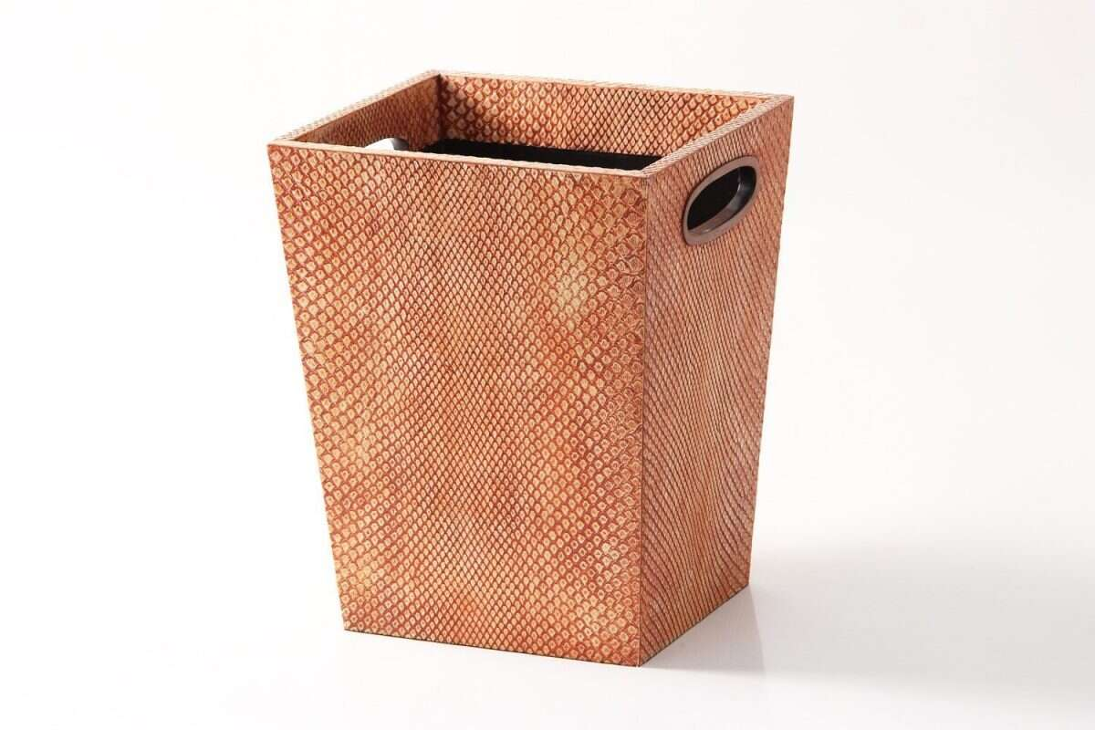 Forwood Design Waste Bin in Coral Boa 4