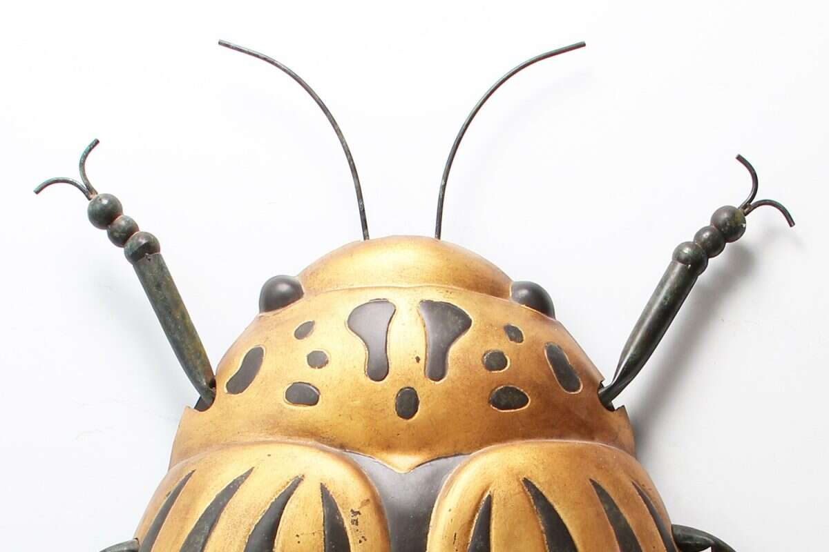 Beetle Bug Wall Art sculpture by Henry Forwood 1