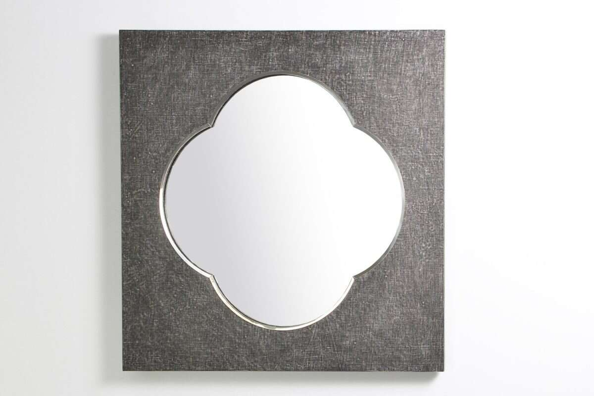 Ely Mirror in Charcoal Linen by Forwood Design 5