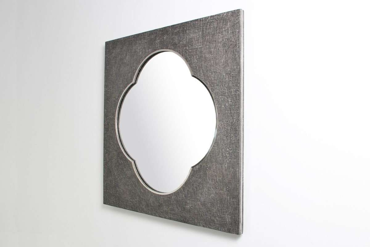 Ely Mirror in Charcoal Linen by Forwood Design 4