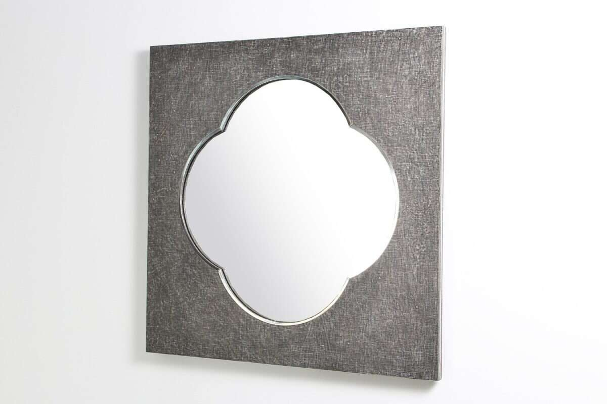 Ely Mirror in Charcoal Linen by Forwood Design 3