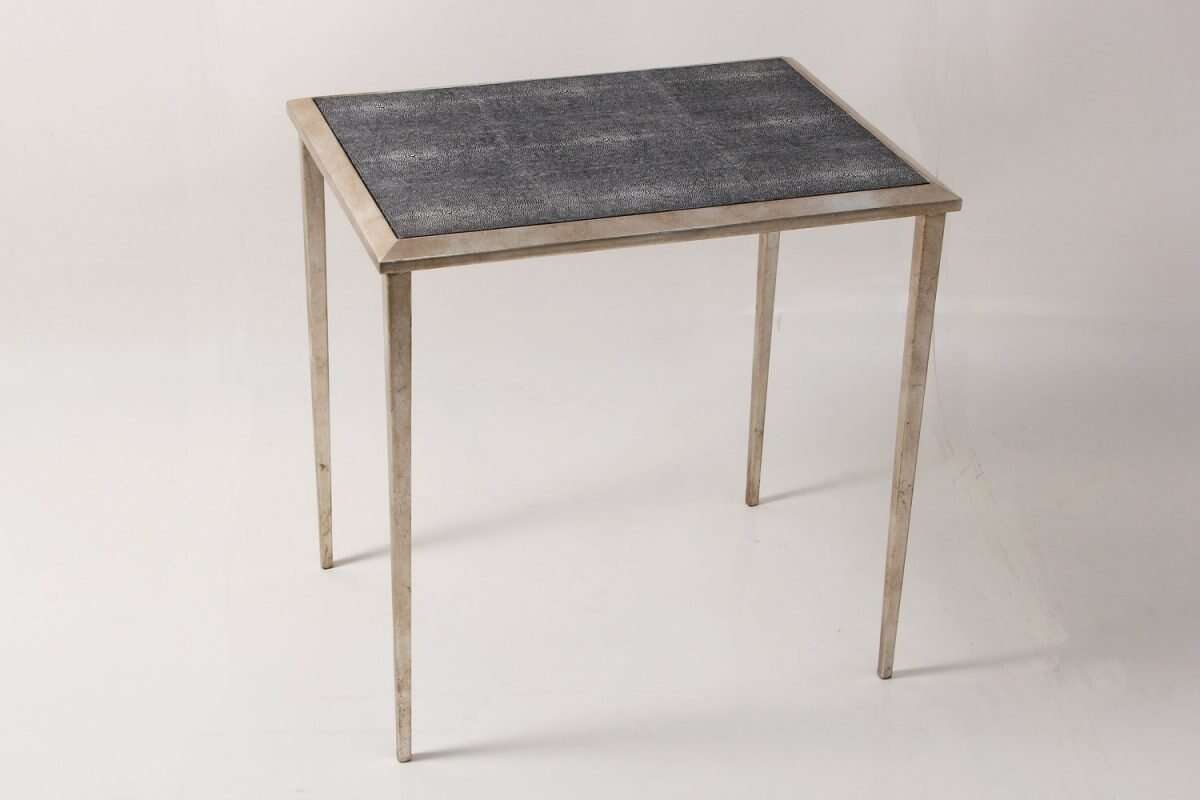 Clare Shagreen Side Table 5