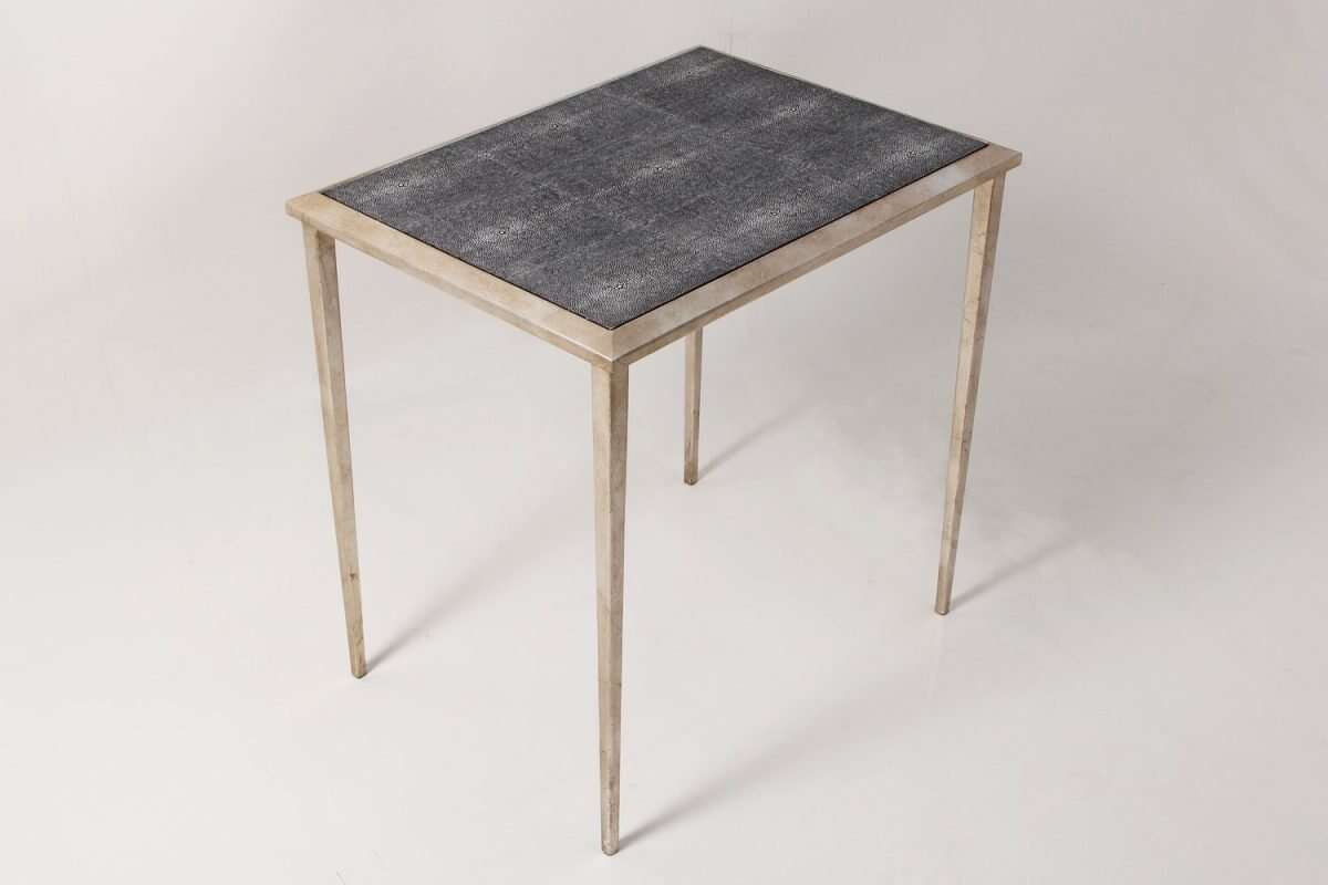 Clare Shagreen Side Table 4