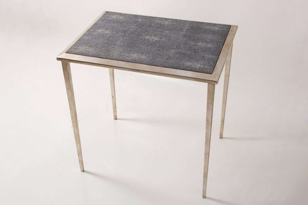 Clare Shagreen Side Table 3